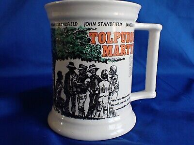 1984 Commemerative Pottery Remembering The Tolpuddle Martyrs In 1834  Mug • 14.99£