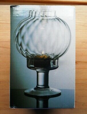 Ft382 Victoria Candlelamp Frank Thrower In Lead Crystal Dartington ~  Boxed • 19.50£