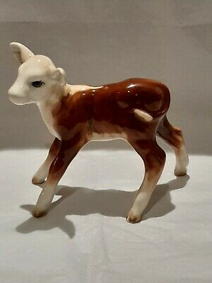 Vintage Beswick Hereford Calf Figure • 45£