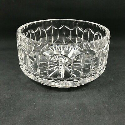 Heavy Weight Crystal Glass Bowl 17cm Diameter  • 14.50£