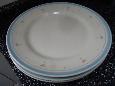 Marks And Spencer Country Hearts Dinner Plates X 4 • 20£