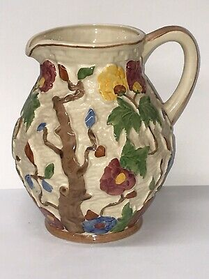 Woods Indian Tree Pattern Pottery Jug  • 15£