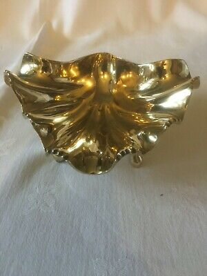Reproduction Metal Chrome Clam Shell Dish In Excellent Condition. • 4.99£