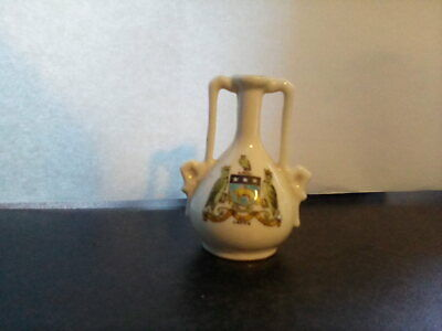 GEMMA China Decorative Small Vase Ornament With Leeds Crest. PreOwned. • 2.49£