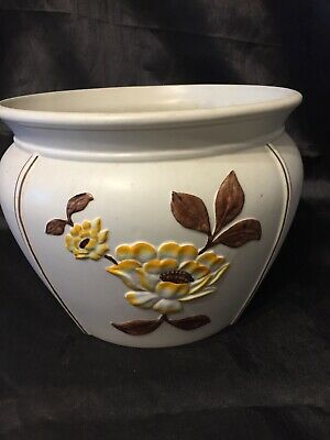 Large Vintage Decorative Planter Jardiniere By Radford England Hand Painted  • 19.99£