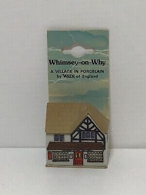 Wade Whimsey On Wye Post Office With Original Packaging • 4£