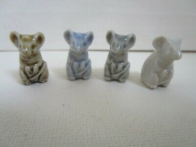 Wade Four Mice Half The Size Of A Normal Whimsie • 14£