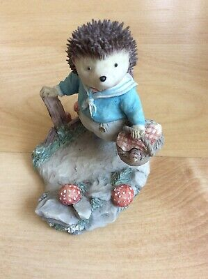 Villroy & Boch Foxwood Tales Figure Willy Hedgehog  Ft2 / 1996 Boxed • 10£