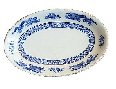 Antique China Rice Grain Serving Dish By George Jones & Sons • 3.99£
