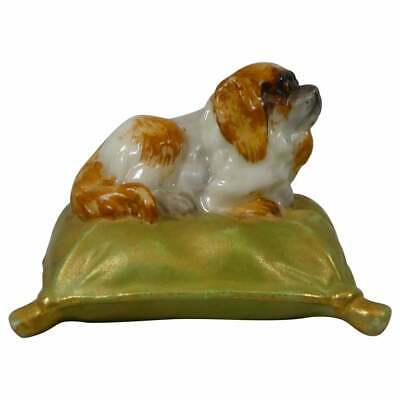 Royal Worcester King Charles Spaniel, Dated 1901. • 31£