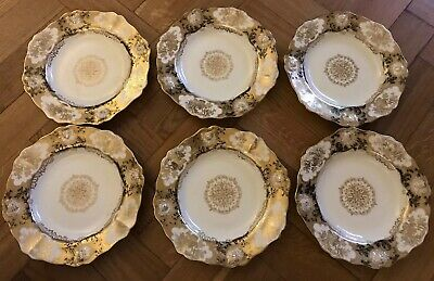Hammersley And Co 6x Plates 1920's Edwardian  • 9£