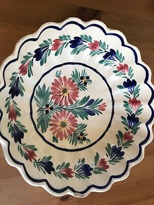 HB Quimper Faience Pottery Hand Painted Bowl 9040 • 35£