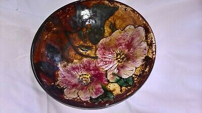 Nairn Pottery Bowl Hand Thrown In Scotland.muriel Macintyre  Excellent Condition • 60£