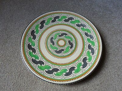 Charlotte Rhead Crown Ducal Charger • 45£