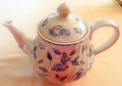 Bhs - Bristol Blue - Teapot - More Items Listed • 9.99£