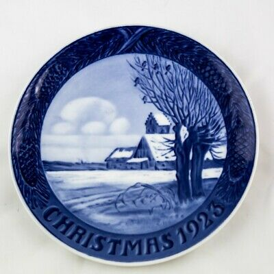 Royal Copenhagen Christmas Plate From 1923. 1st Quality • 27.90£
