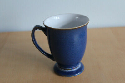 Denby Pottery Boston Or Imperial Blue Footed Mug - Excellent Condition • 5£