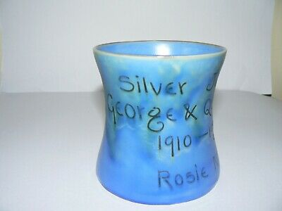 Baron Pottery Commemorative Mug (Silver Jubilee Of George And Queen Mary) • 20£