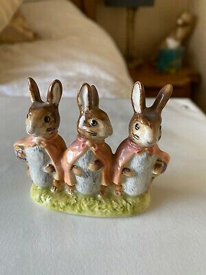 Beswick Beatrix Potter's 'Flopsy Mopsy And Cottontail' Figurine No Date • 5£