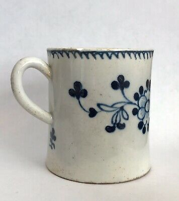 Antique 18th Century Liverpool Christian Coffee Can C1775 • 40£