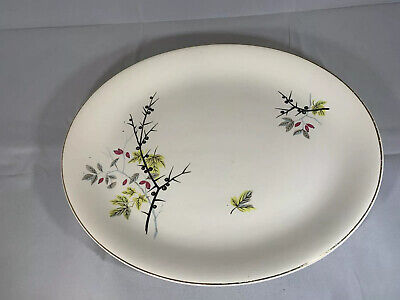 Alfred Meakin Linden Plate Oval • 2.99£