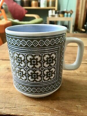 Hornsea Pottery Vintage 1970s Tapestry Pattern Mug Superb Condition • 7.99£