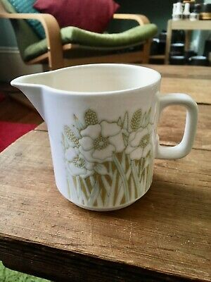 Hornsea Pottery Vintage Fleur Pattern Half Pint Milk Jug Superb • 3.20£