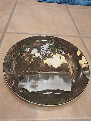 Royal Doulton Murray River Gums Collectible Plate D6425 • 8.99£