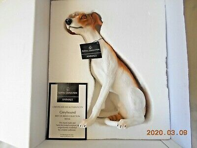 Royal Doulton Best Of Breed Greyhound 2004 • 28£