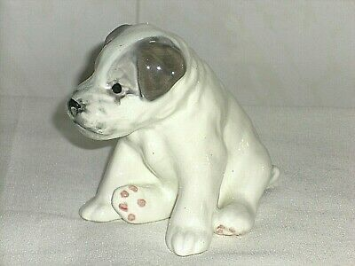 Vintage Dog Puppy 1964-1974 Russian Porcelain Figurine Made In USSR  • 10£