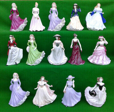 Royal Worcester - Les Petites - Selection Of Fine Bone China Figurines. • 24.99£