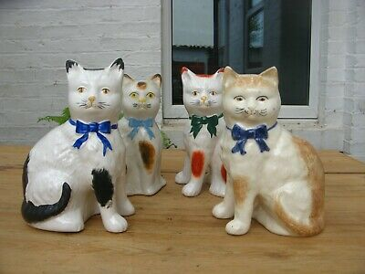 Vintage Ceramic Cats Fireside Wally • 20£