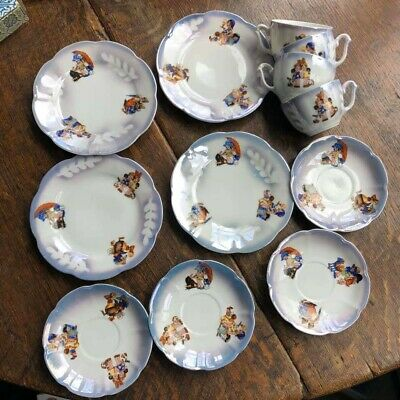 Mabel Lucy Attwell Style Teaset • 40£