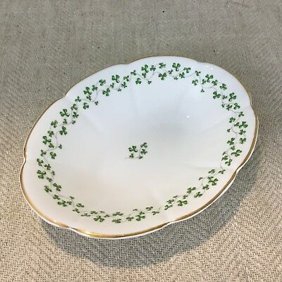 Royal Tara Porcelain Bowl Dish Ireland Galway Clover Shamrock Irish China  • 25.85£