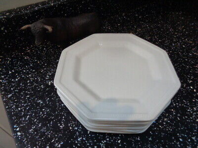 Johnson Brothers Heritage White Side Plates X 6 • 30£