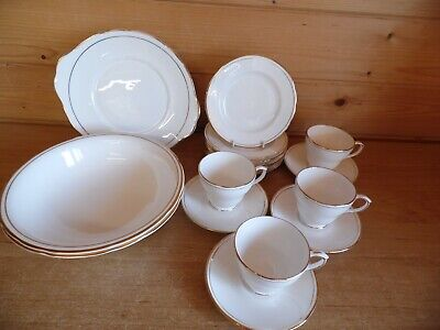Duchess  Ascot  Bone China - White Gold Trim Replacements/Spares Please Choose  • 7.95£