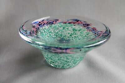 Scottish Art Glass Bowl • 20£