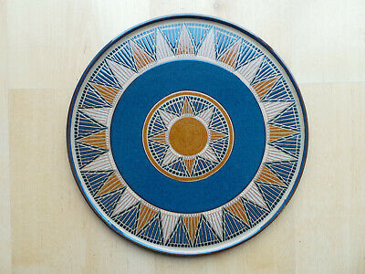 Denby Boston Spa Large 12.5  Round Serving Platter Charger Pizza Plate • 39.99£