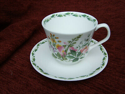 Queens China  The Garden  Breakfast Cup And Saucer • 6£