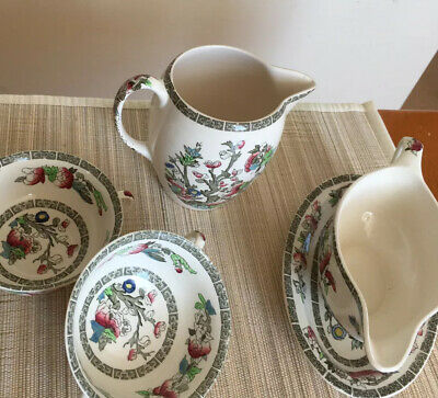 Oddments Of Indian Tree China By Johnson Bros Of England • 10.50£