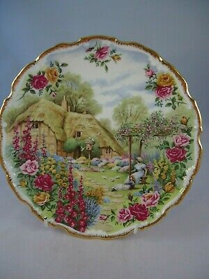 Royal Albert Tranquil Garden Plate Fred Errill Vintage British • 21.99£