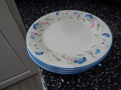 Royal Doulton Expressions Windermere Side Plates X 4 • 16£