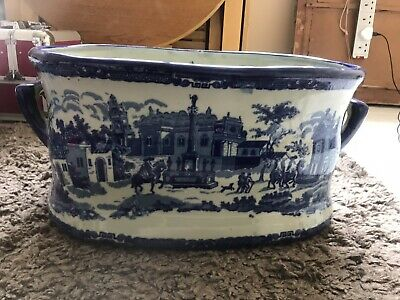 LARGE  Antique Imitation Victoria  Ware Foot Bath /Planter • 90£