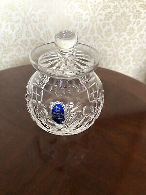 Beautiful Vintage Lead Crystal Bowl With Lid • 10£