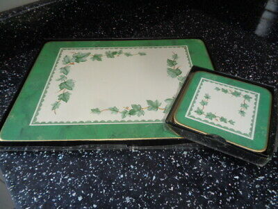 Bhs Country Vine Placemats And Coasters X 4 • 25£