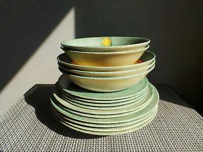 Johnson Brothers Ozark Springfield Cereal Pasta Soup Bowls & Plates X15 Pieces • 39.99£