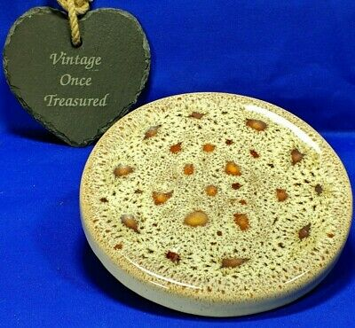 Fosters Pottery * Trivet Stand * Vintage Honeycomb Dripware VGC • 12.98£