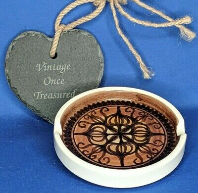 Vintage Retro 1960s 1970s JERSEY POTTERY Ashtray * Moroccan Brown * VGC  • 9.99£