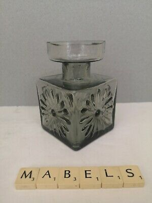 DARTINGTON - FRANK THROWER ~MIDNIGHT~  Textured Candlestick Or Vase FT60 • 14.99£