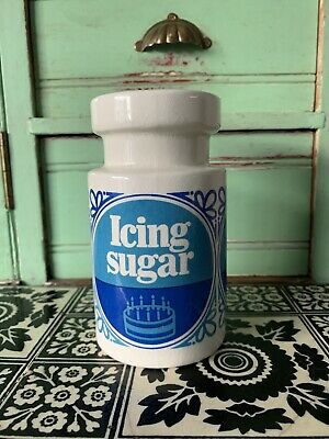 Lord Nelson Ware Vintage Tate & Lyle Icing Sugar Jar Shaker • 18£